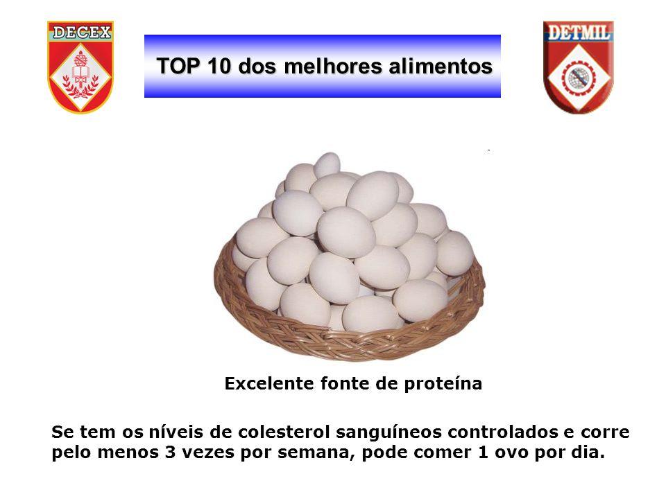TOP 10 dos melhores alimentos