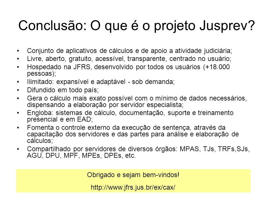 Conclusão: O que é o projeto Jusprev