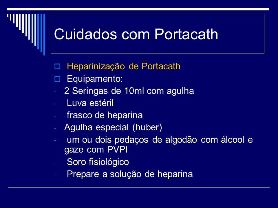 Cuidados com Portacath