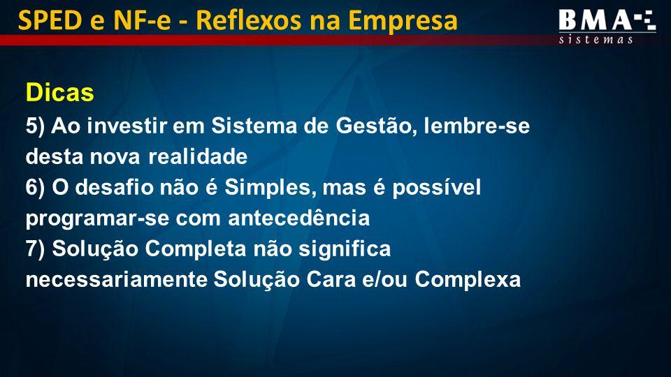 SPED e NF-e - Reflexos na Empresa