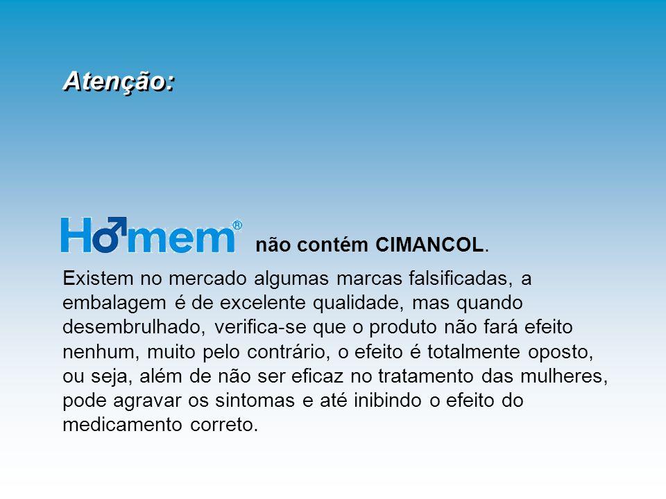 Atenção: não contém CIMANCOL.