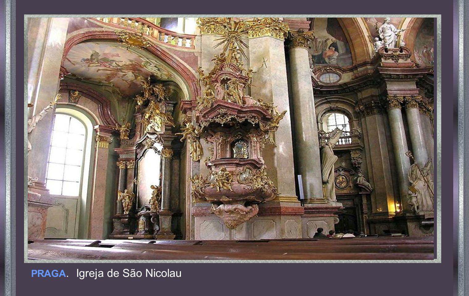 PRAGA. Igreja de São Nicolau