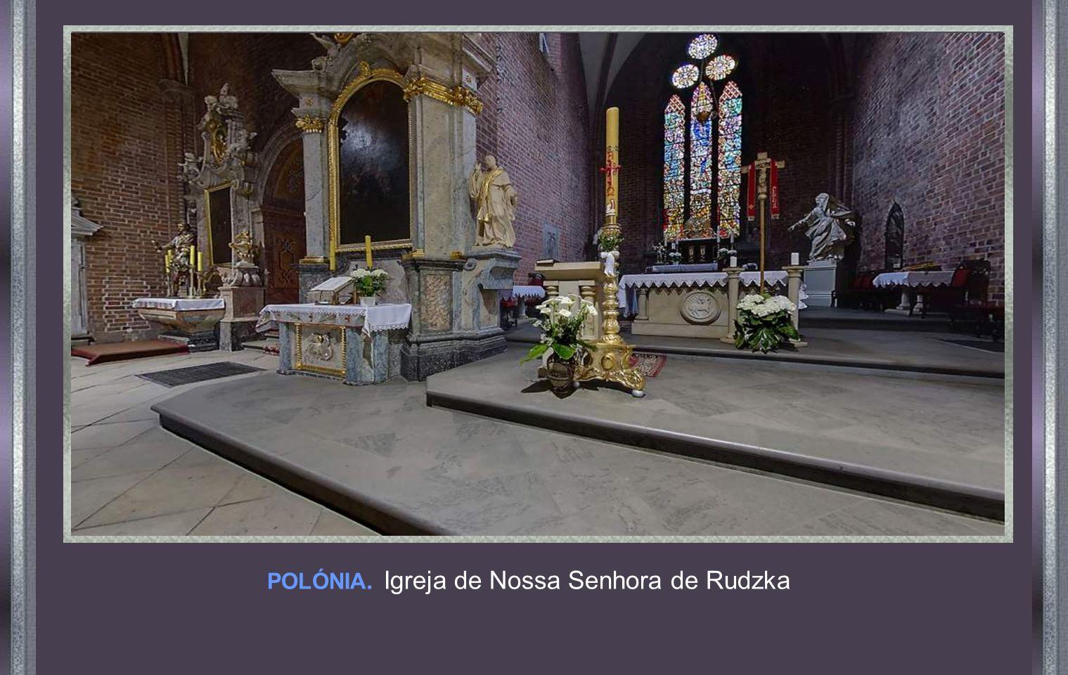 POLÓNIA. Igreja de Nossa Senhora de Rudzka