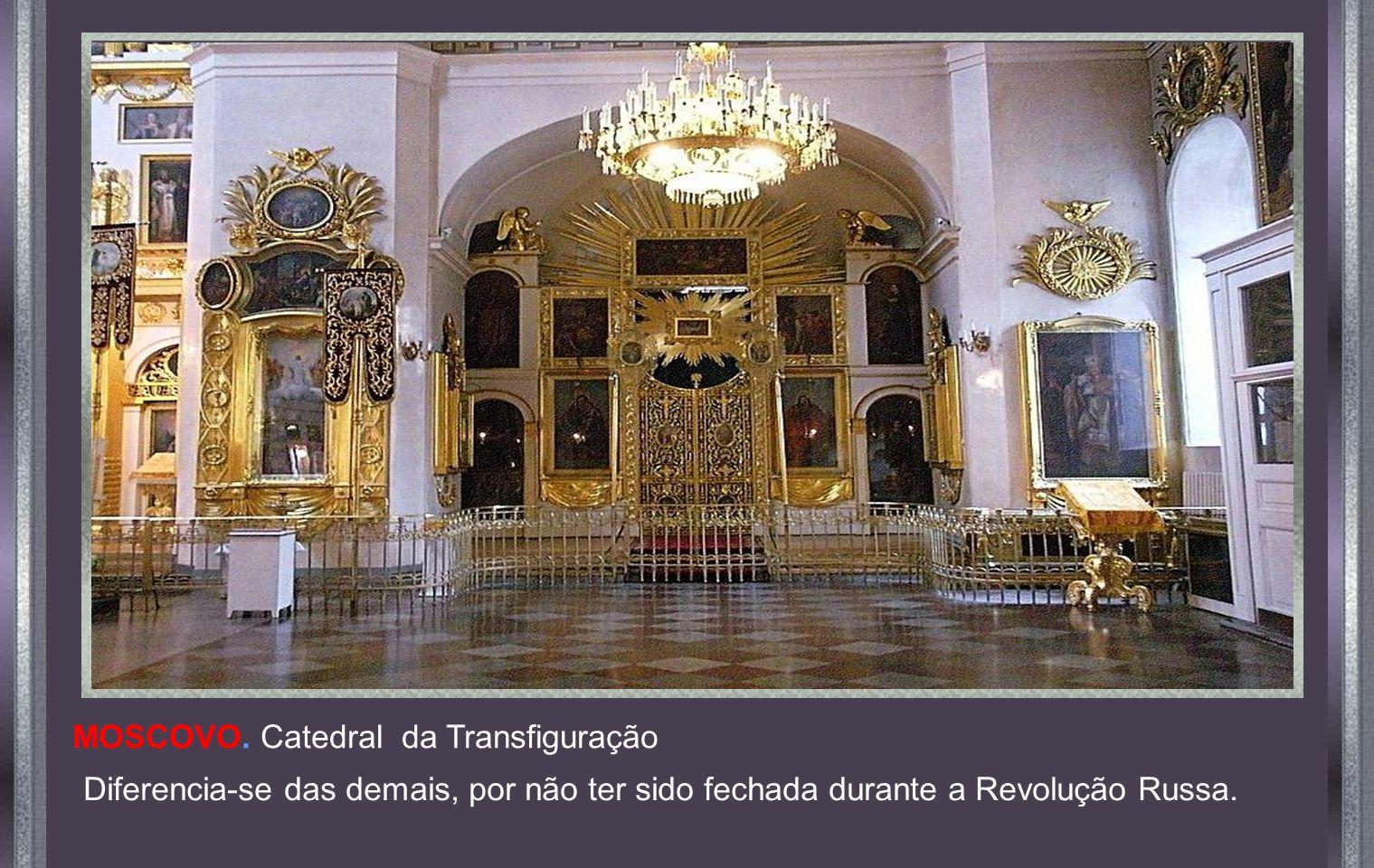 MOSCOVO. Catedral da Transfiguração