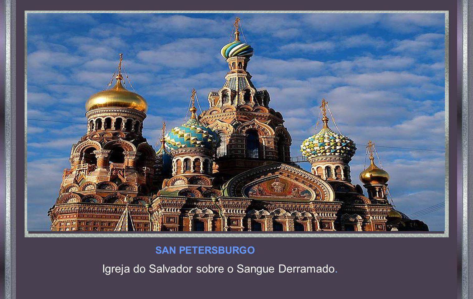 Igreja do Salvador sobre o Sangue Derramado.