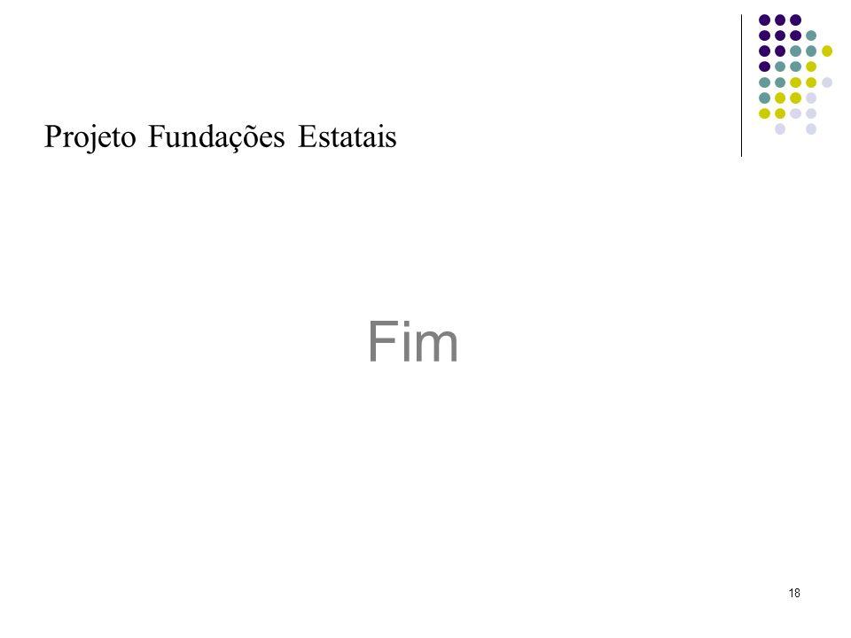 Projeto Fundações Estatais
