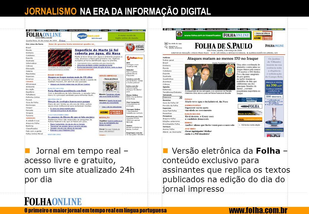 Jornal em tempo real – acesso livre e gratuito,