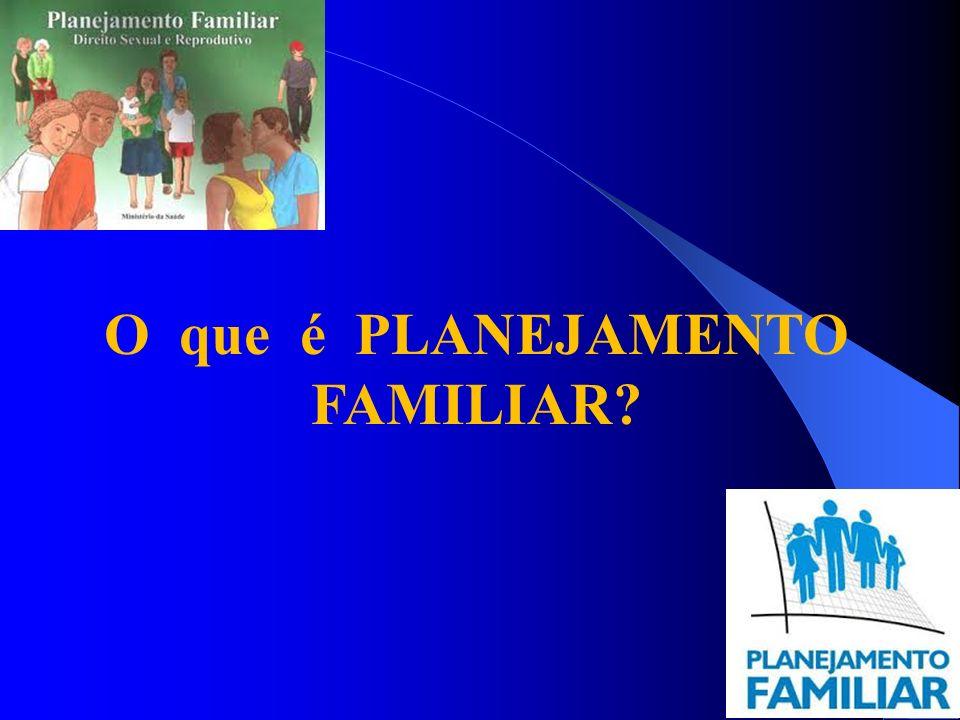 O que é PLANEJAMENTO FAMILIAR