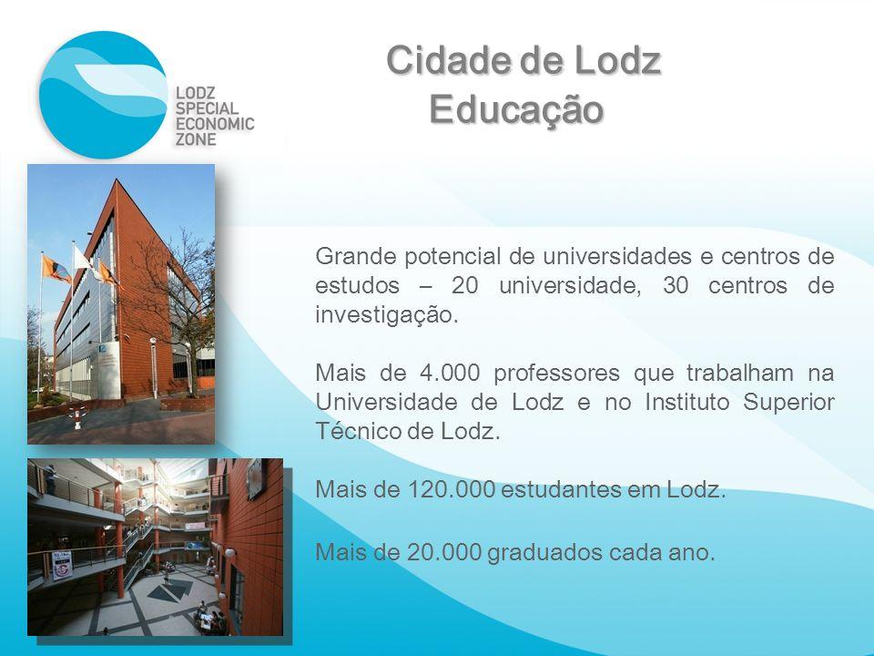 Cidade de Lodz Educação
