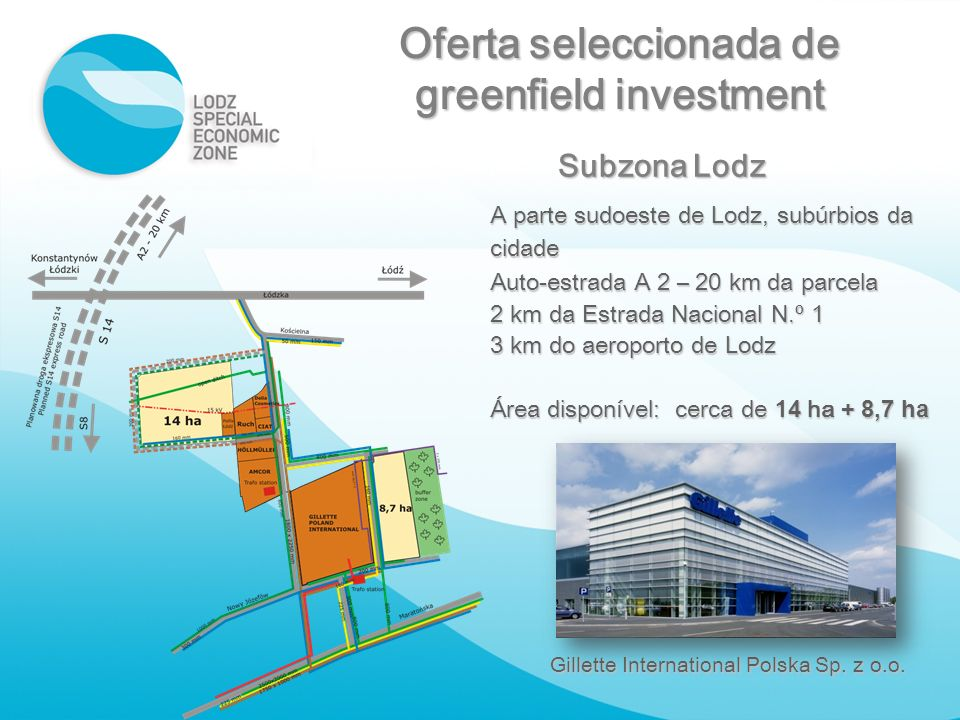 Oferta seleccionada de greenfield investment