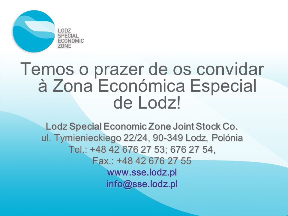 Lodz Special Economic Zone Joint Stock Co.