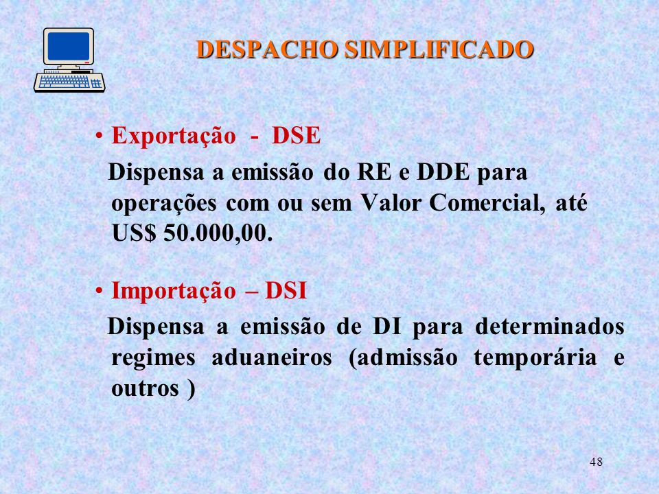 DESPACHO SIMPLIFICADO