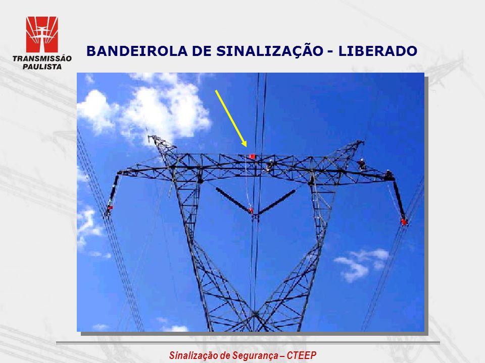 BANDEIROLA DE SINALIZAÇÃO - LIBERADO