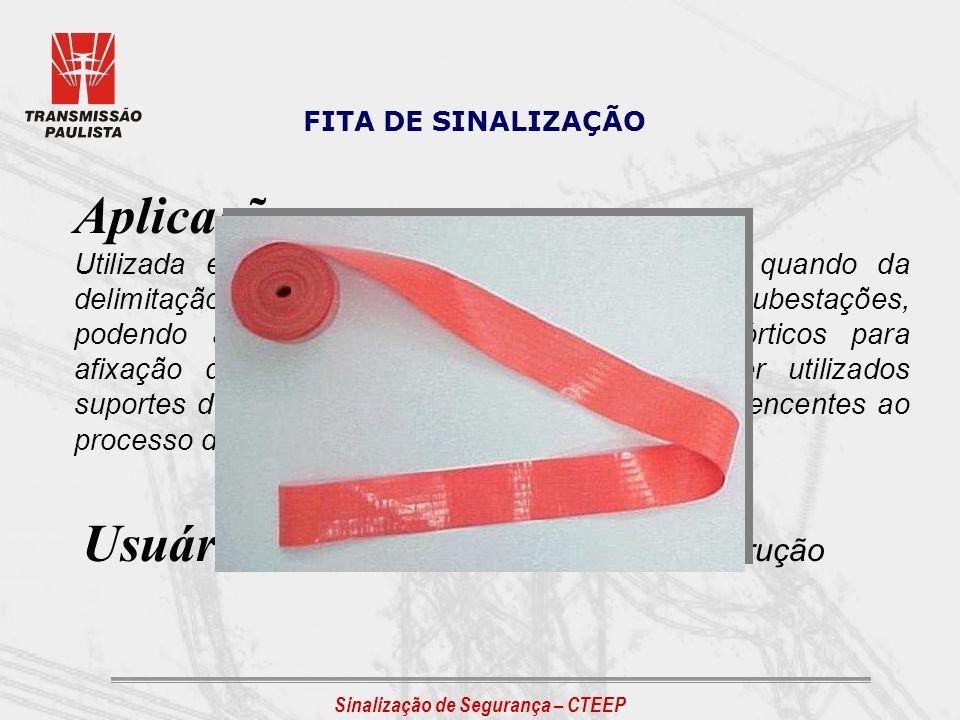 Usuário: Operação / Manutenção / Construção