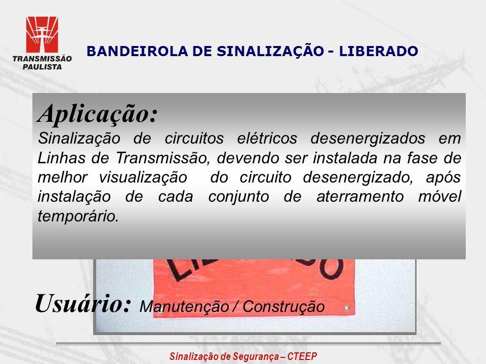 Usuário: Manutenção / Construção