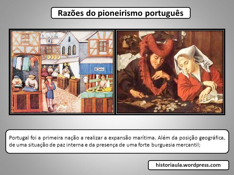 Razões do pioneirismo português