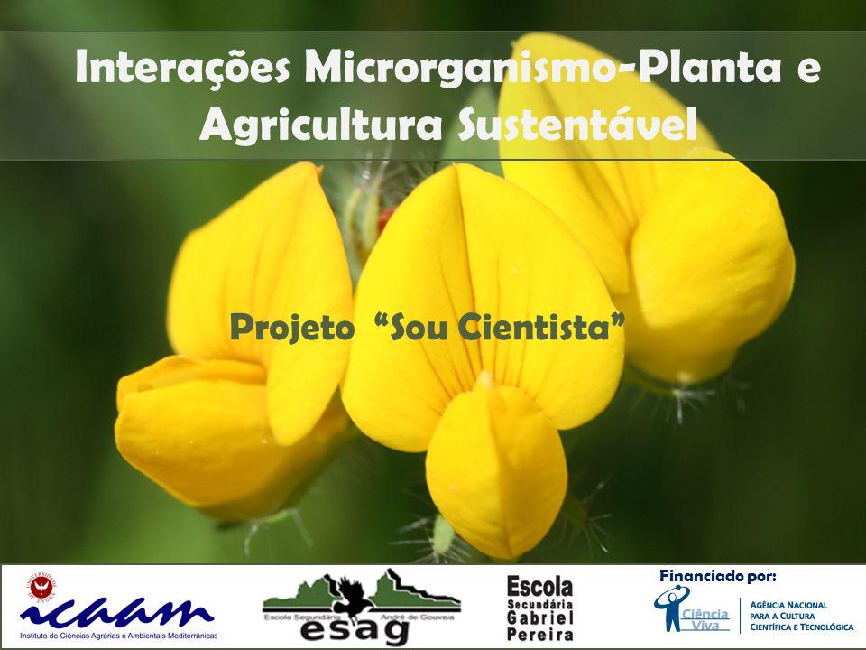 Interações Microrganismo-Planta e Agricultura Sustentável
