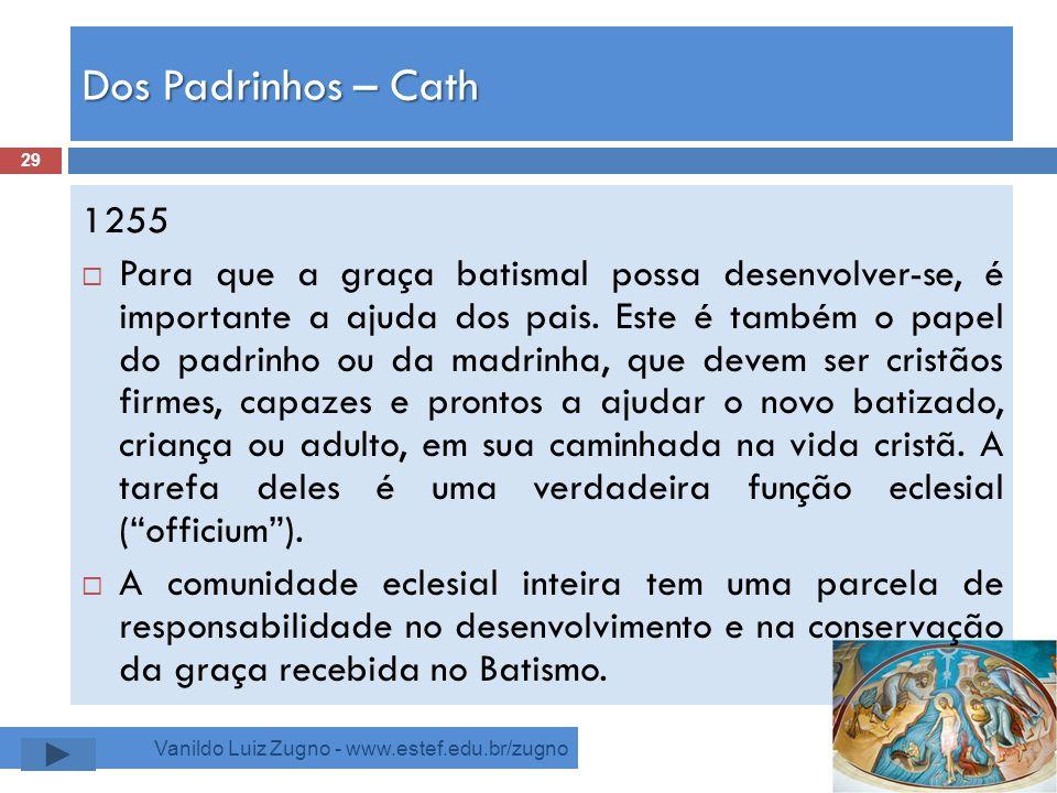 Dos Padrinhos – Cath 1255.