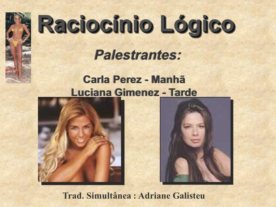 Luciana Gimenez - Tarde