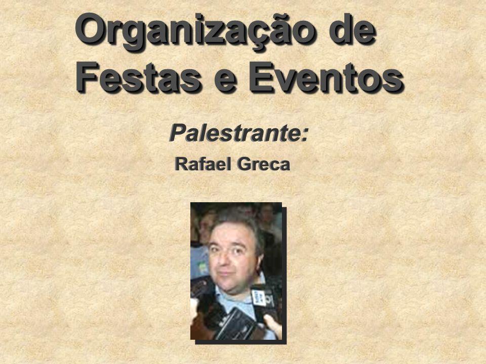 Organização de Festas e Eventos