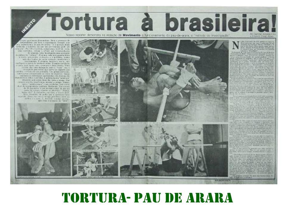 TORTURA- Pau de arara