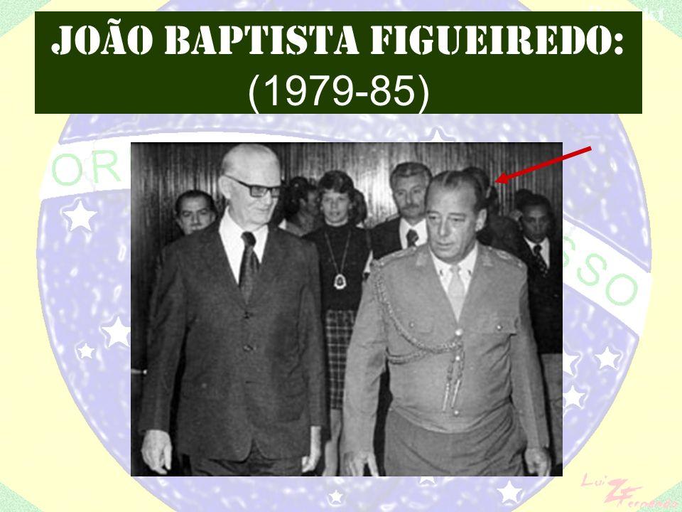 JOÃO BAPTISTA FIGUEIREDO: (1979-85)