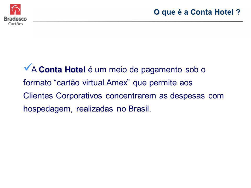 O que é a Conta Hotel