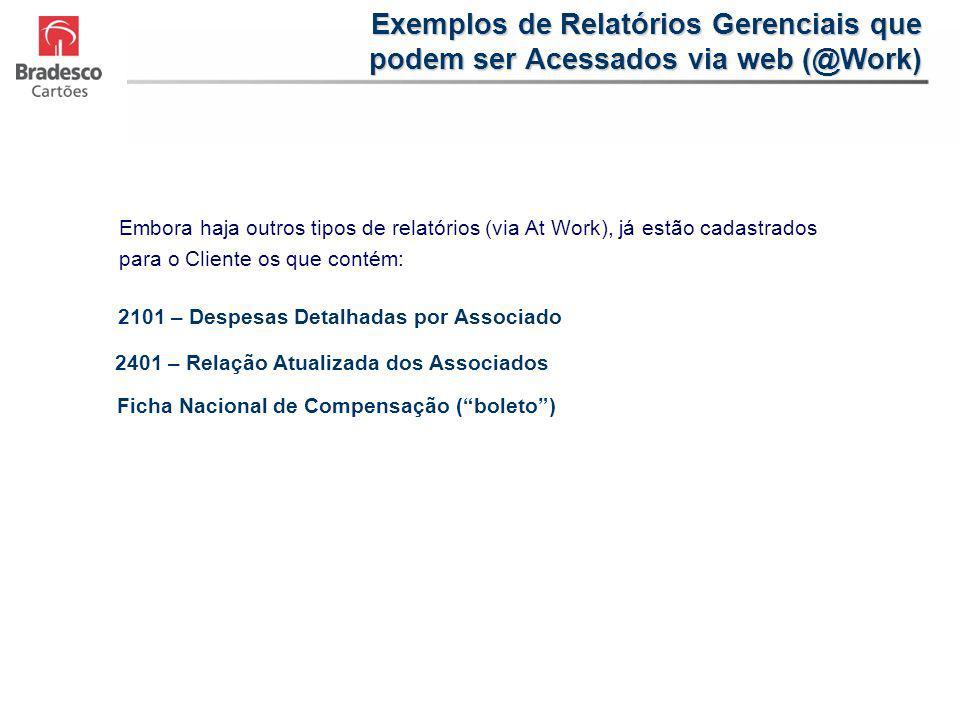 Exemplos de Relatórios Gerenciais que