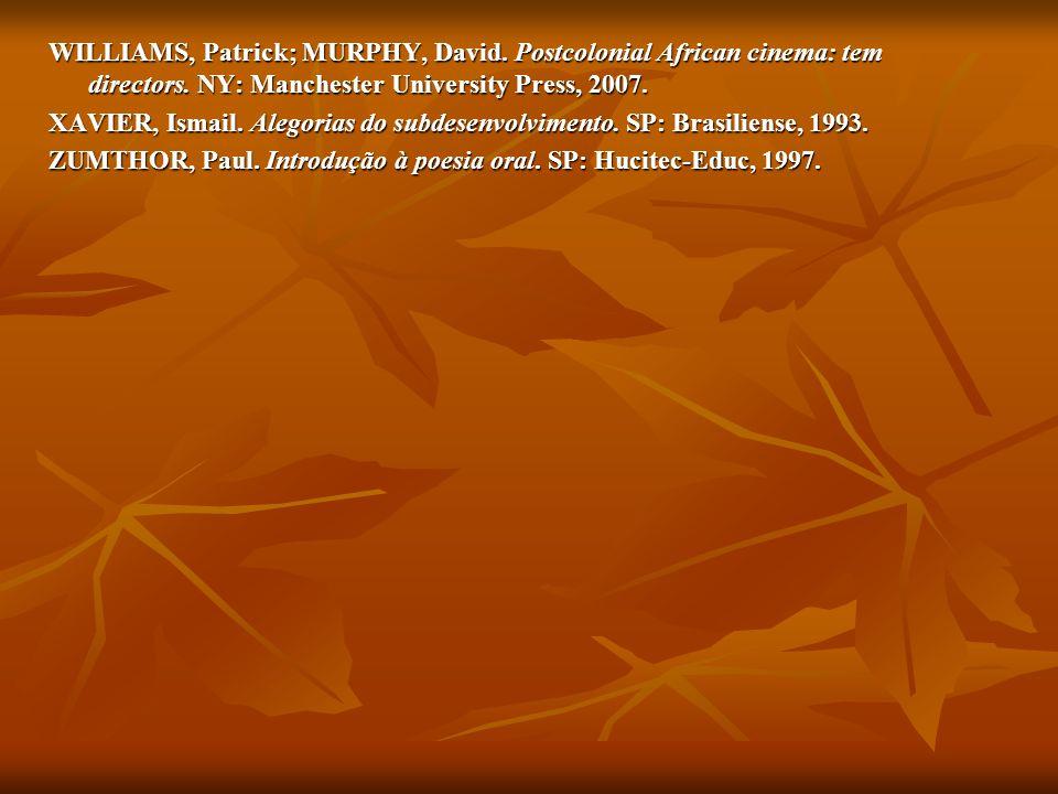 WILLIAMS, Patrick; MURPHY, David