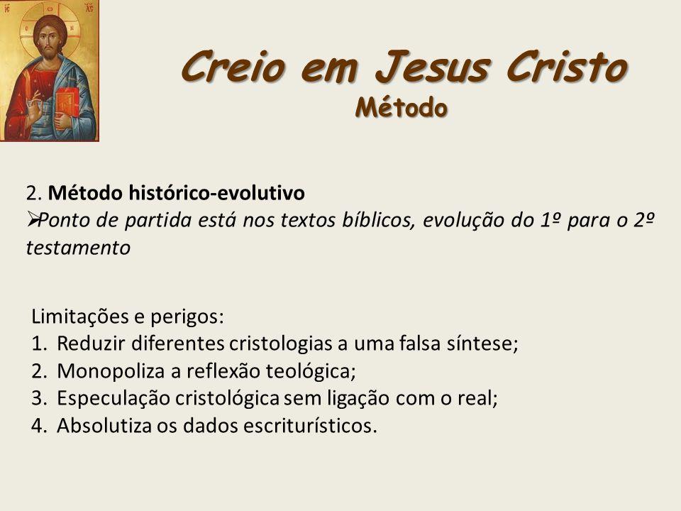 Creio em Jesus Cristo Método