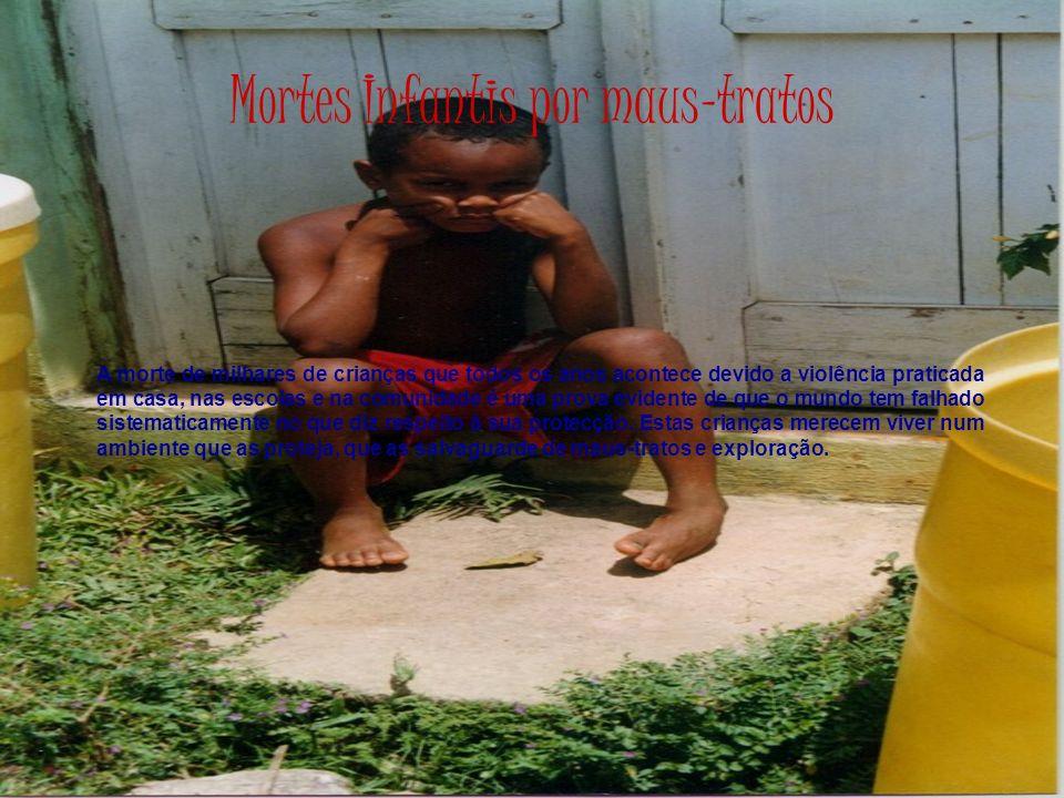 Mortes Infantis por maus-tratos