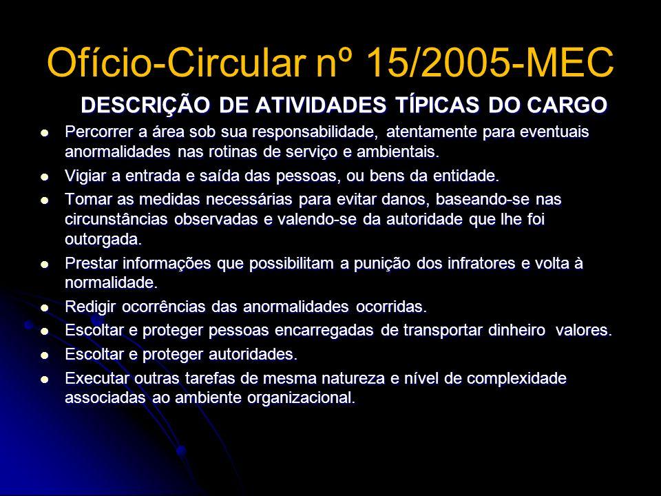 Ofício-Circular nº 15/2005-MEC