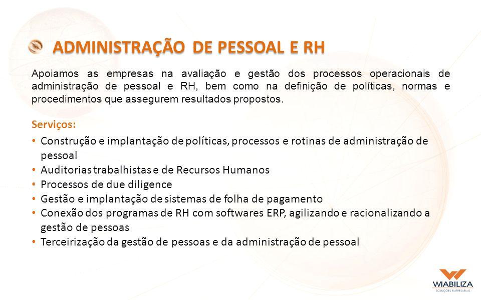 ADMINISTRAÇÃO DE PESSOAL E RH