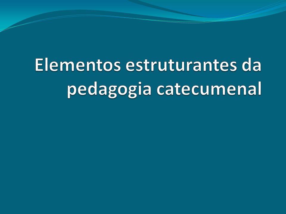 Elementos estruturantes da pedagogia catecumenal