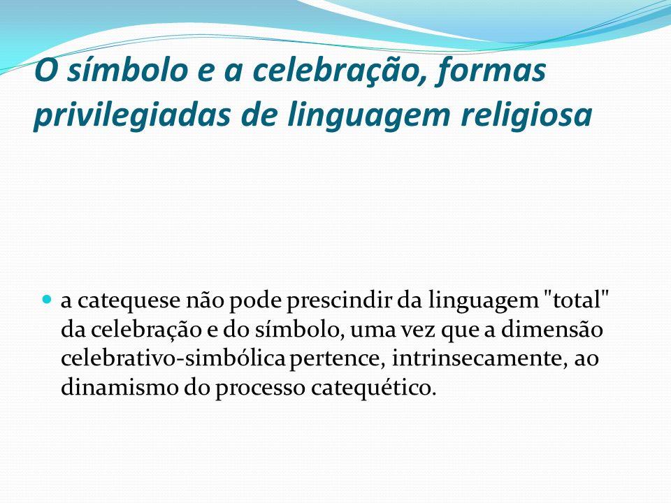 O símbolo e a celebração, formas privilegiadas de linguagem religiosa