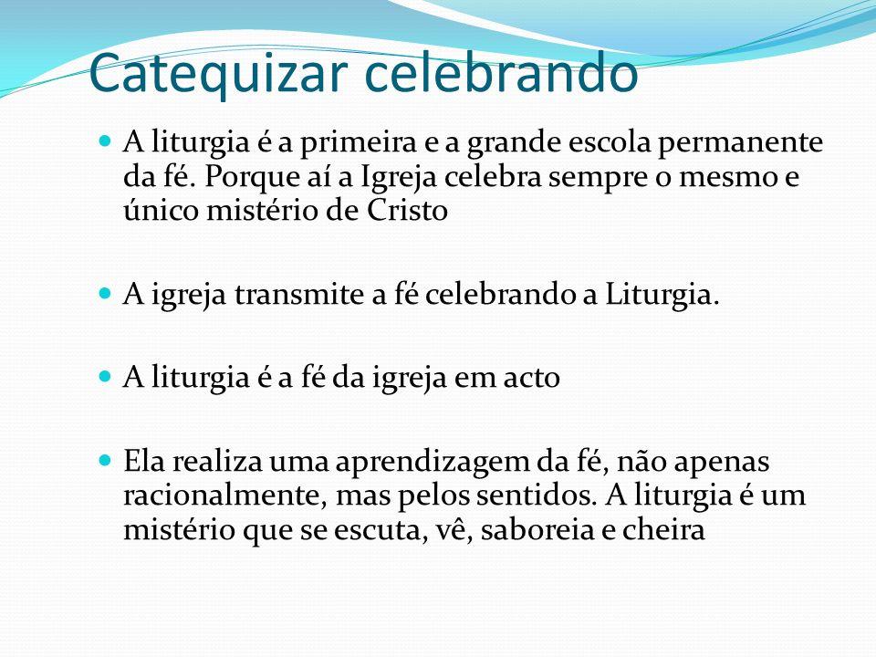 Catequizar celebrando