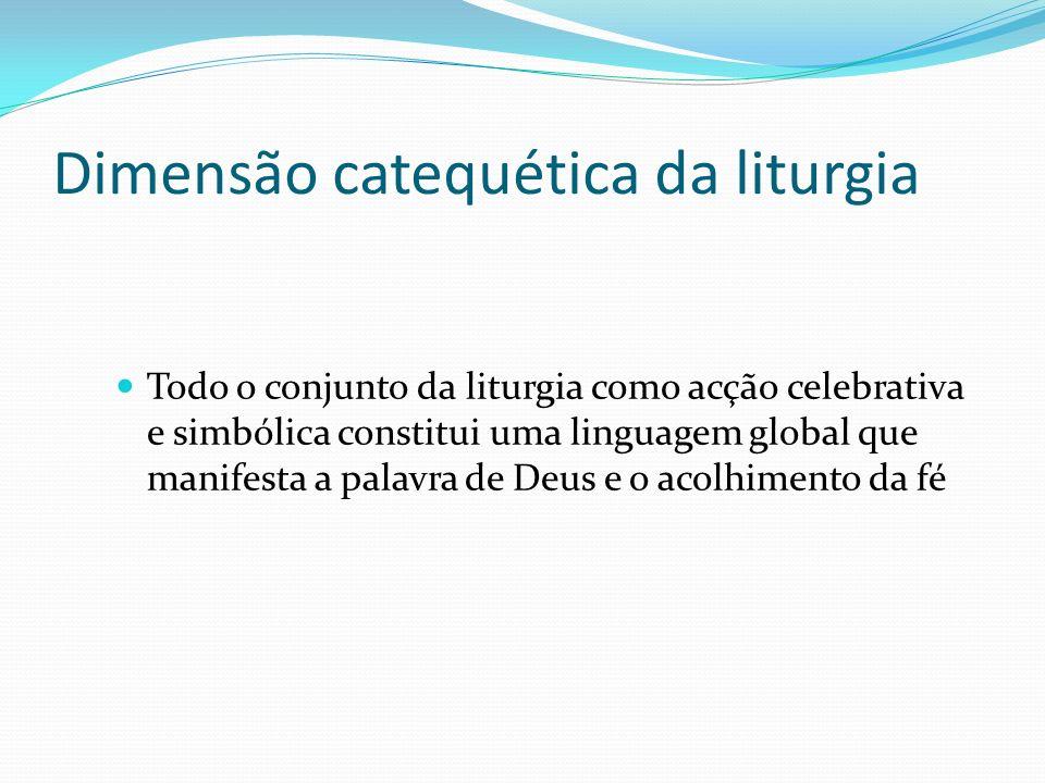 Dimensão catequética da liturgia