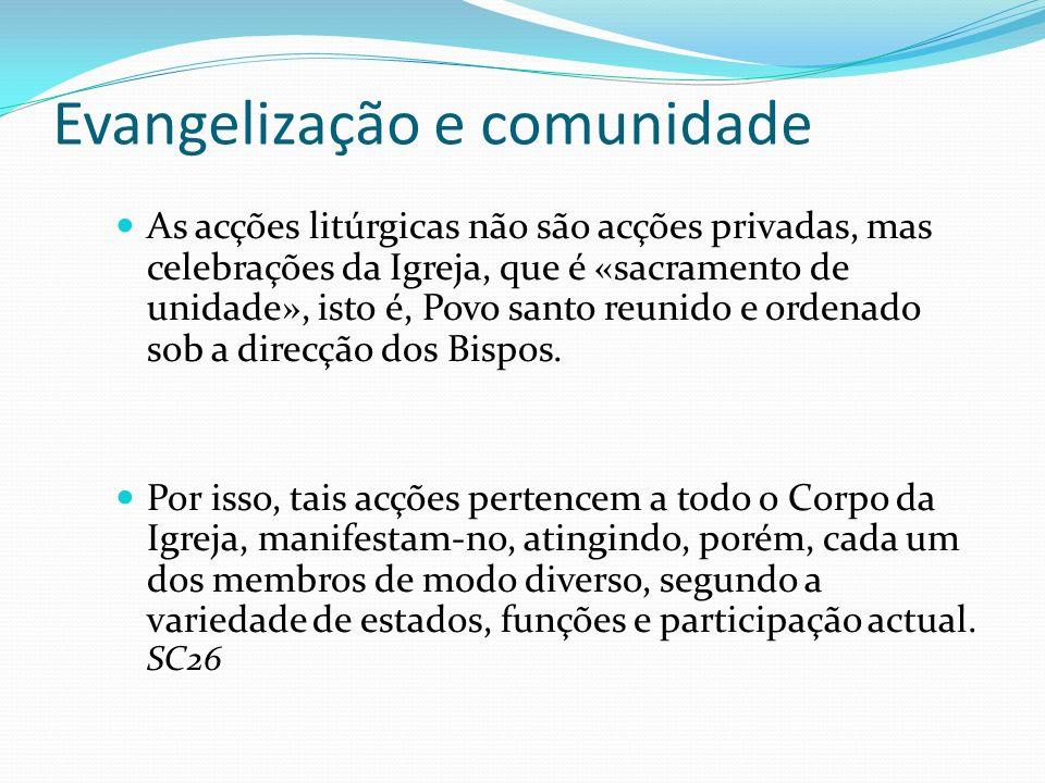 Evangelização e comunidade