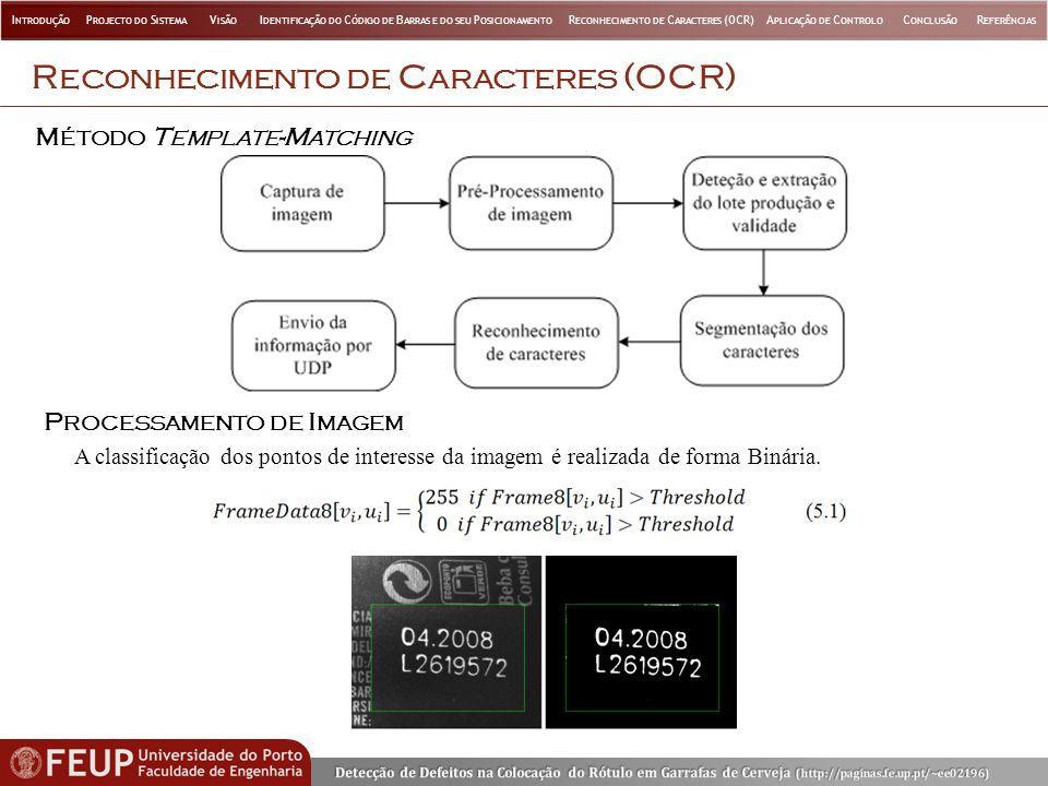 Reconhecimento de Caracteres (OCR)