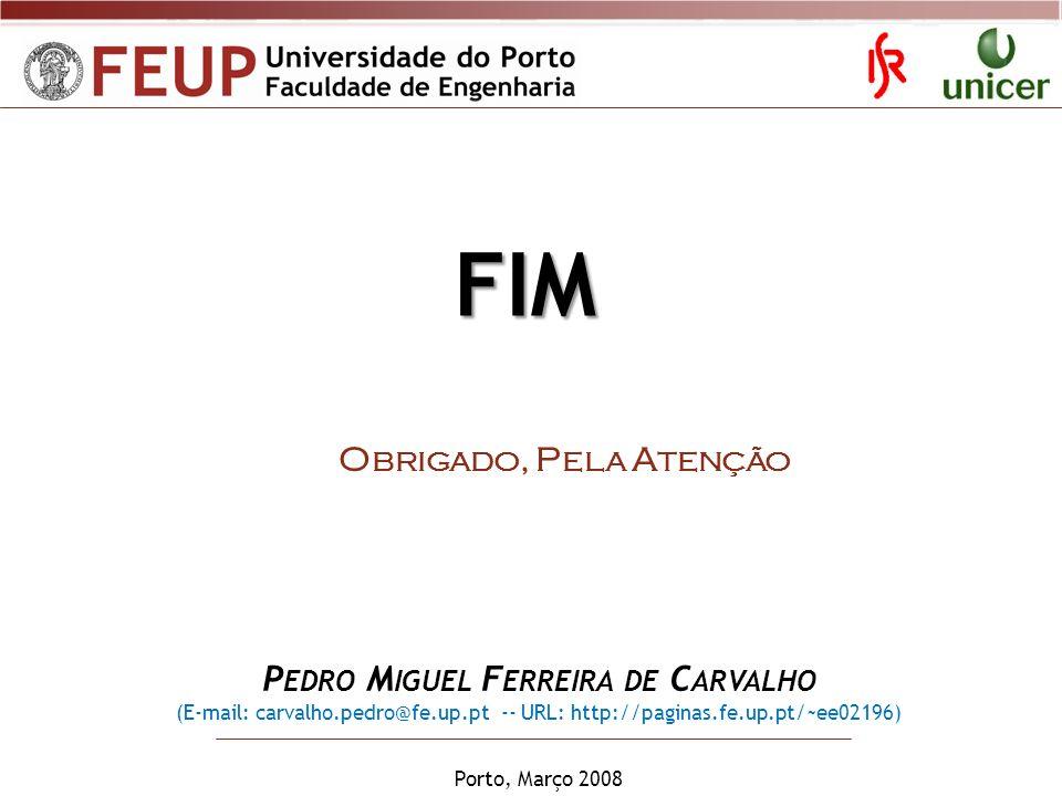 Pedro Miguel Ferreira de Carvalho