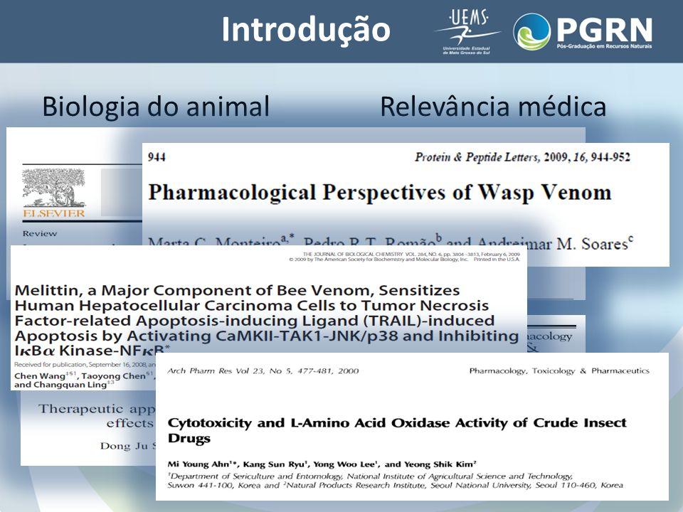 Introdução Biologia do animal Relevância médica