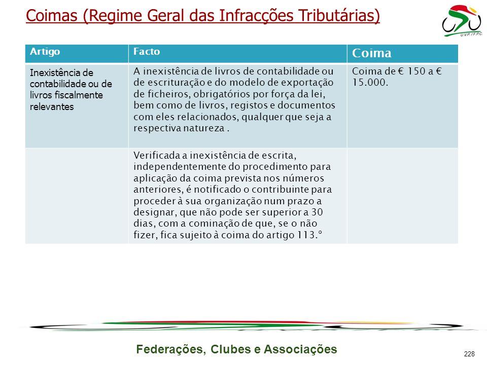 Coimas (Regime Geral das Infracções Tributárias)