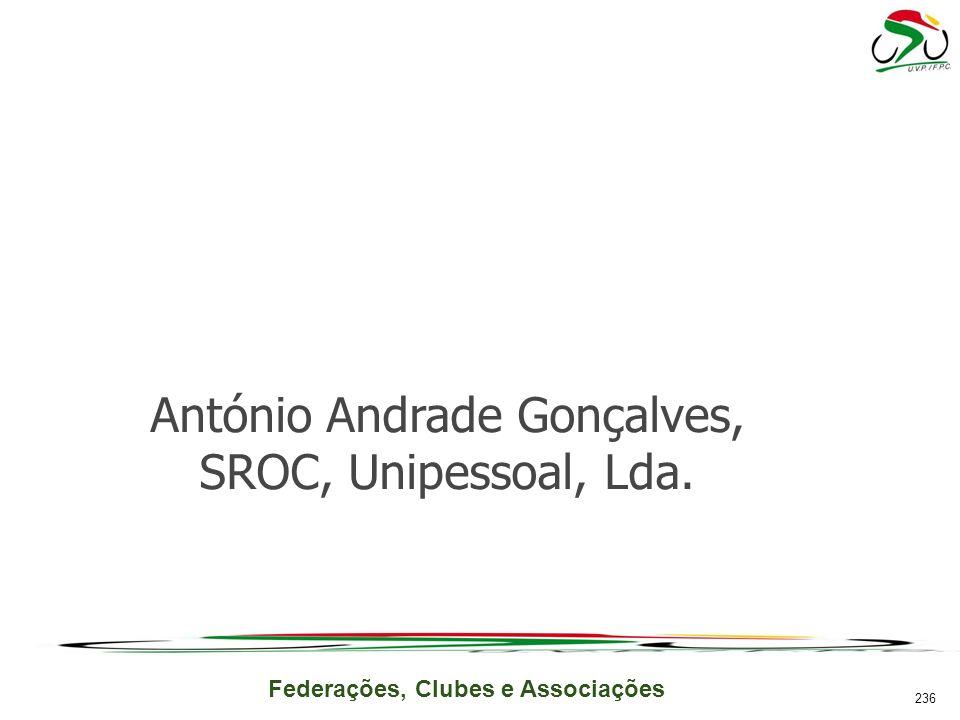 António Andrade Gonçalves, SROC, Unipessoal, Lda.