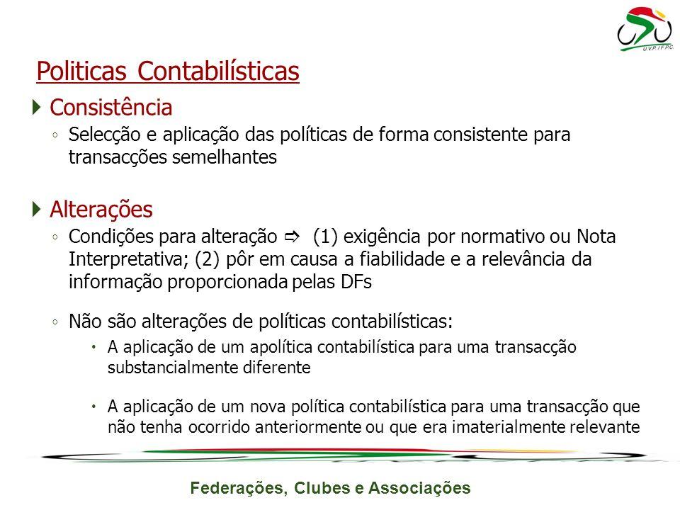 Politicas Contabilísticas