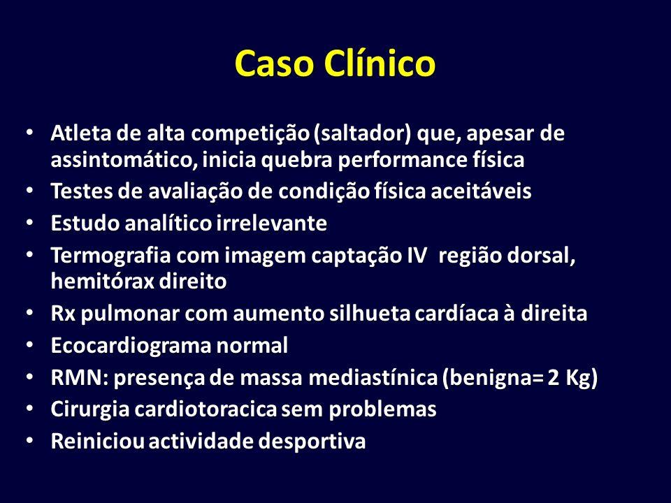Caso Clínico Atleta de alta competição (saltador) que, apesar de assintomático, inicia quebra performance física.