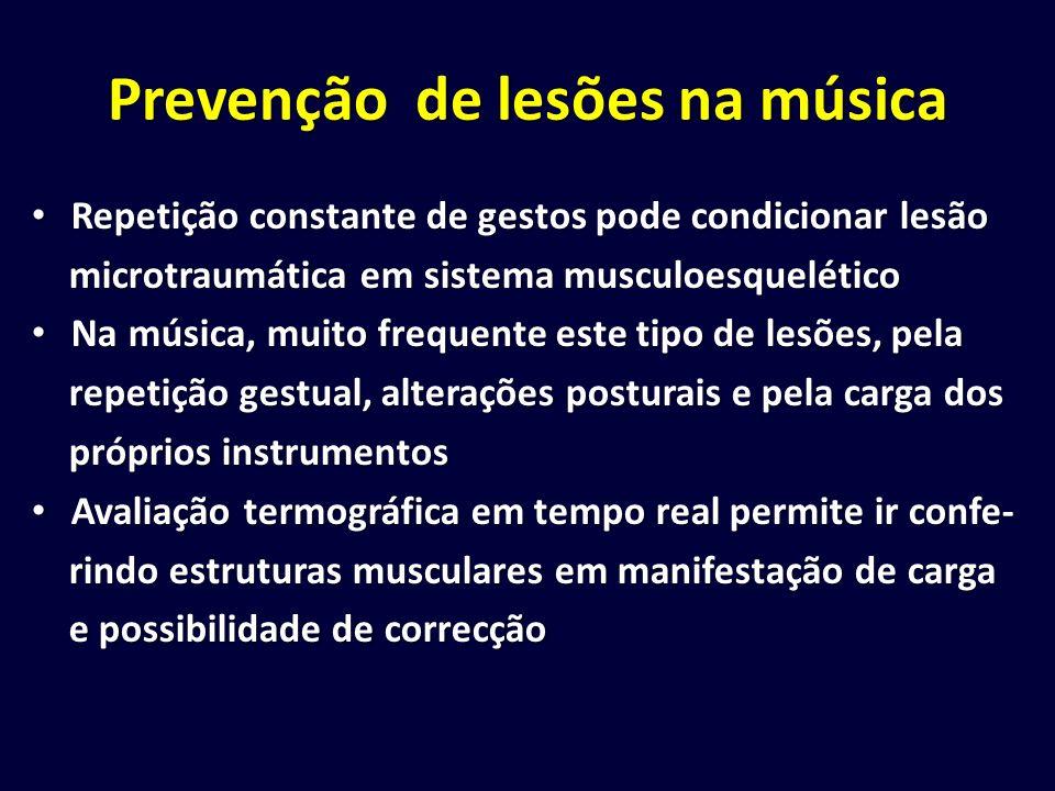 Prevenção de lesões na música
