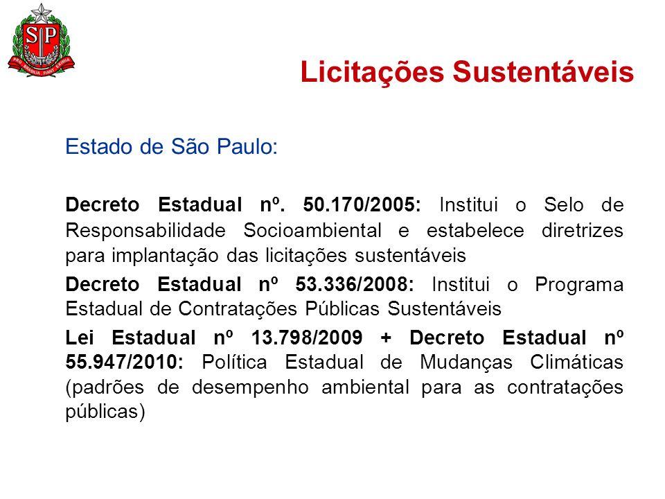 Licitações Sustentáveis