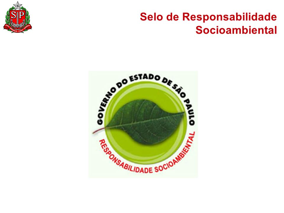Selo de Responsabilidade Socioambiental