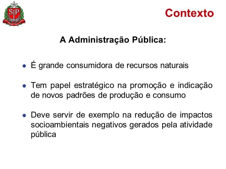 A Administração Pública: