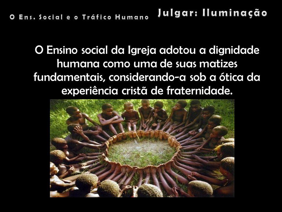 O Ens. Social e o Tráfico Humano